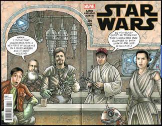 Star Wars Comic Book Men by Frisbeegod