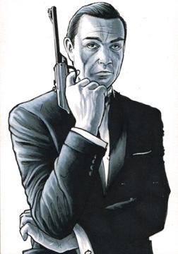 007 James Bond Sean Connery by Frisbeegod