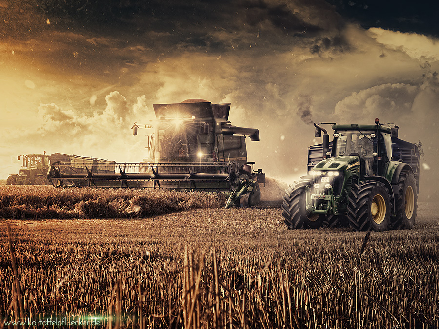 Girly John Deere Paintings : John deere panorama by kartoffel on deviantart