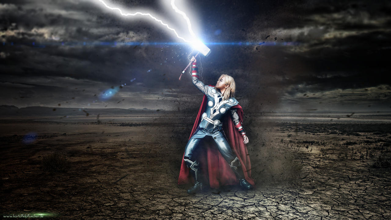 Thor - God of Thunder by Kartoffel83