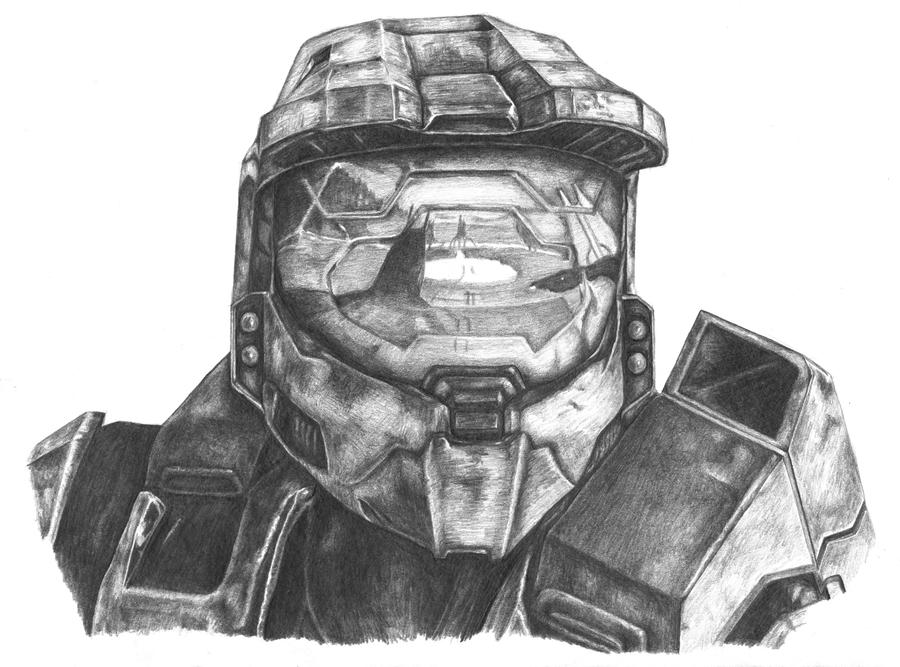 Master Chief Helmet Drawing Step By Step Tripodmarket Com