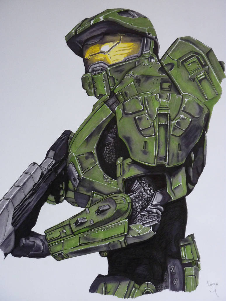 Master Chief (Halo 4 armour) by Macca-Chief on DeviantArt
