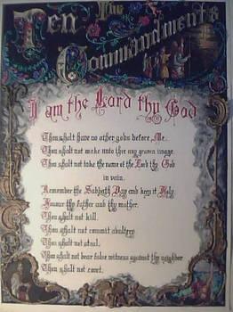 Ten Commandments Finished
