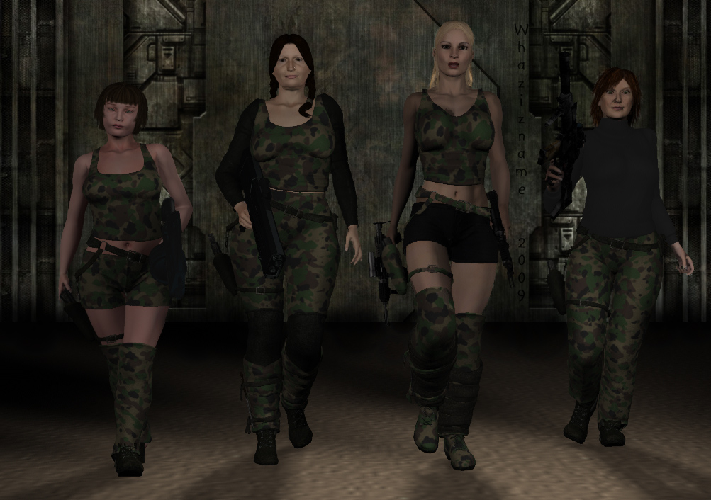 All 4 Camo by Whazizname
