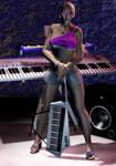 Melissa - Keytar 3 by Whazizname