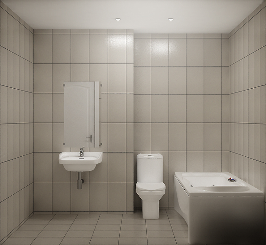 simple bathroom by spybg on deviantart