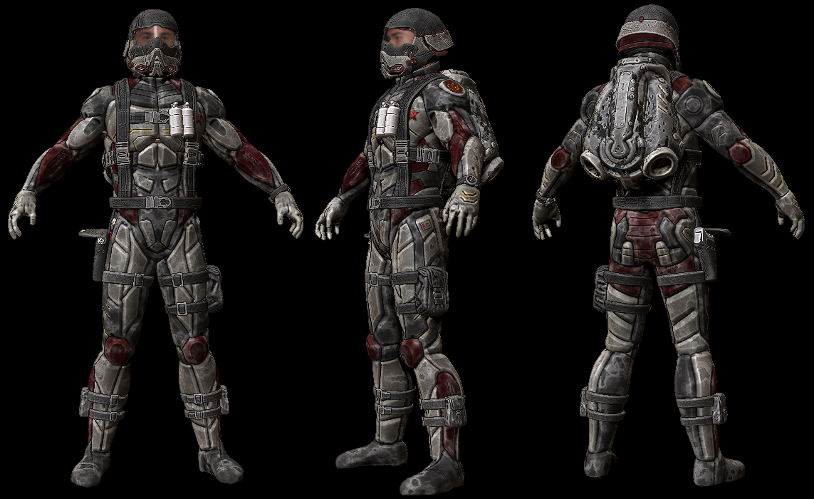 SFI Costume Final HP by spybg