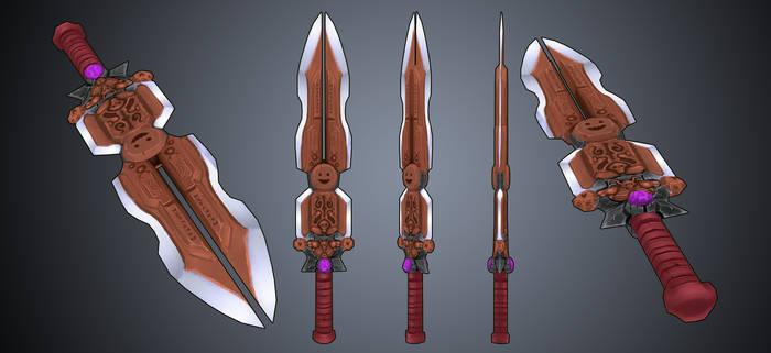 Final Low Poly Sword