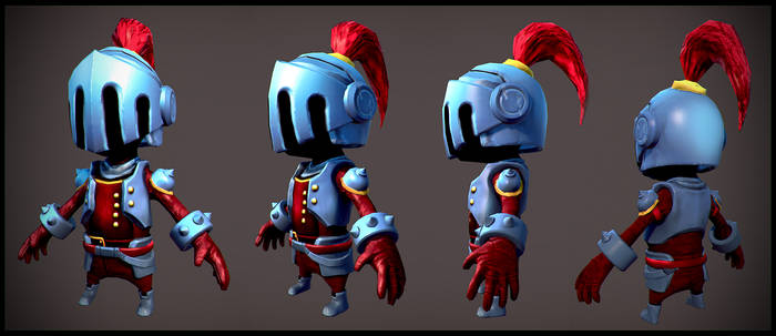 Small Knight Low Poly