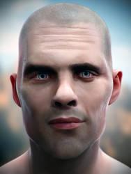 Male Head #40