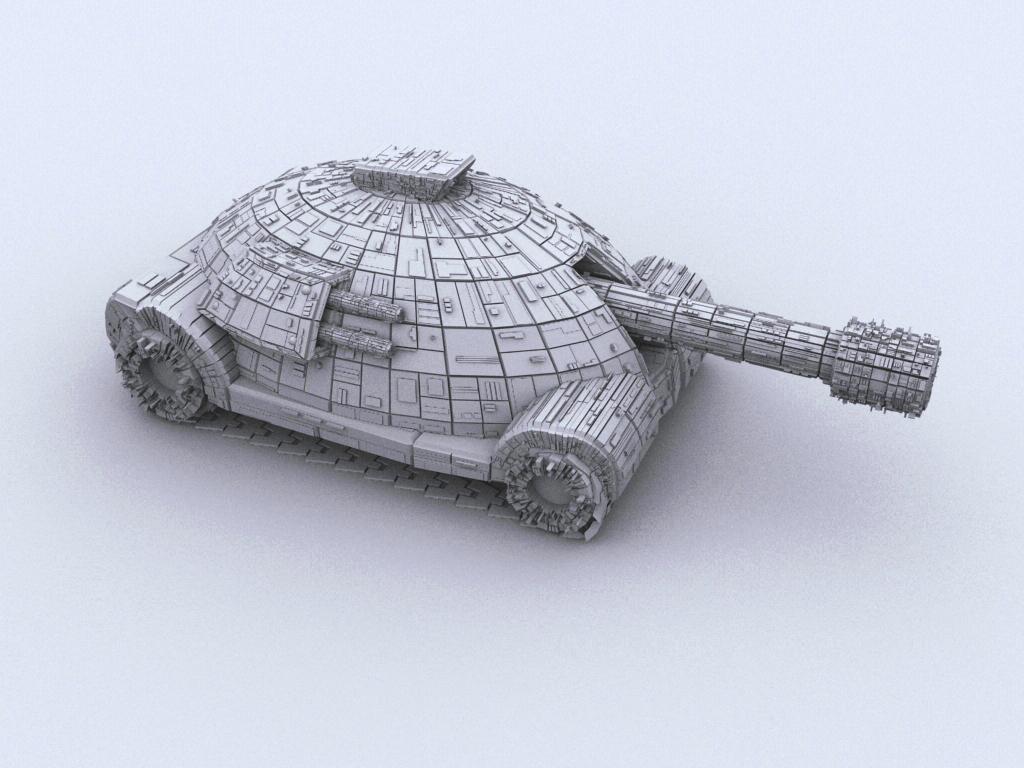 Syron CV-S5 Tank by spybg