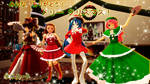 Merry Christmas from Japanese MMD Community