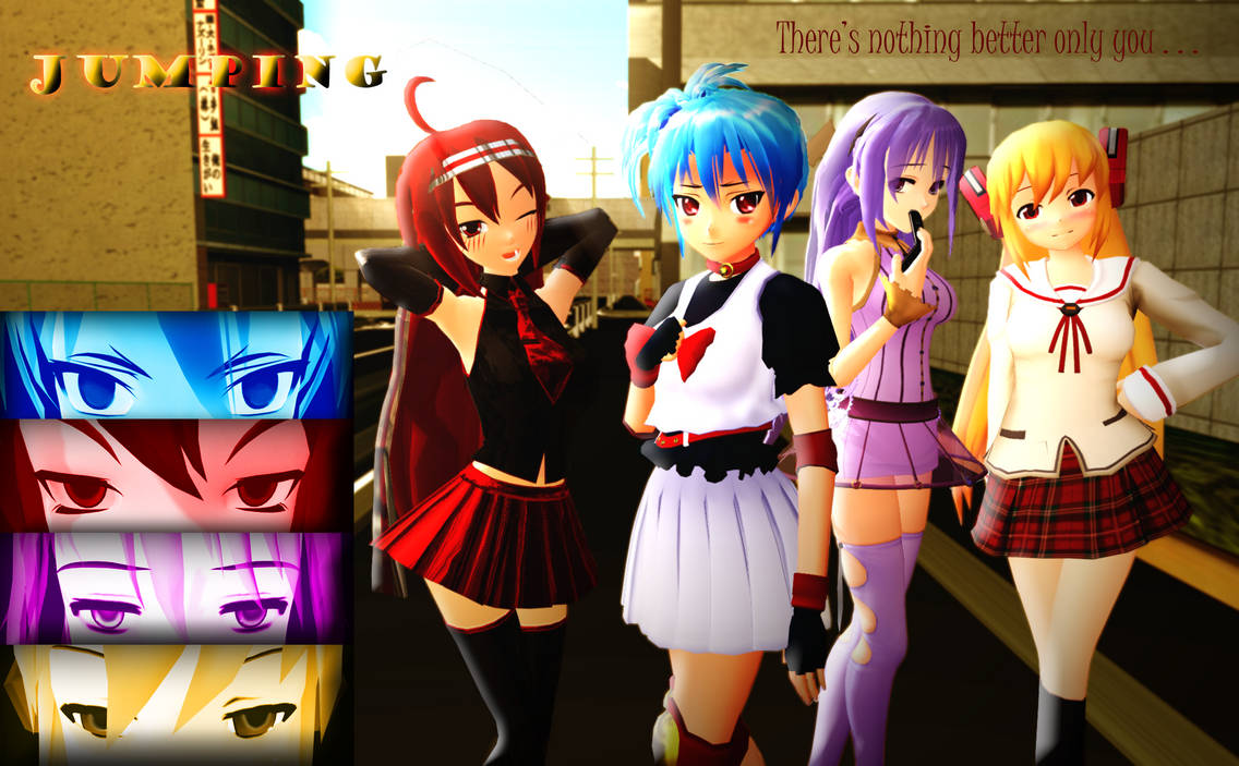 2nd MMD MOMI Cup YandereJumping (2nd Place winner)