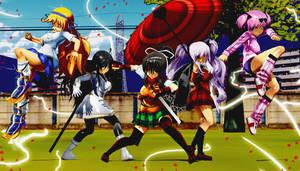 Senran Kagura - Hanzo Academy