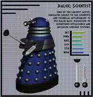 NDP - Dalek Scientist by Librarian-bot
