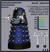 NDP - Dalek Surgeon by Librarian-bot