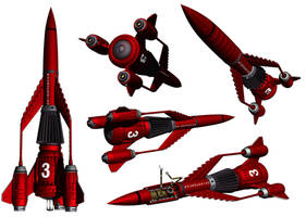 Thunderbird 3 by Librarian-bot