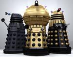 90s Daleks