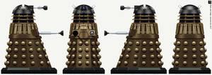 Time War Black Dalek by Librarian-bot