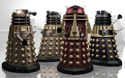 Time War Daleks