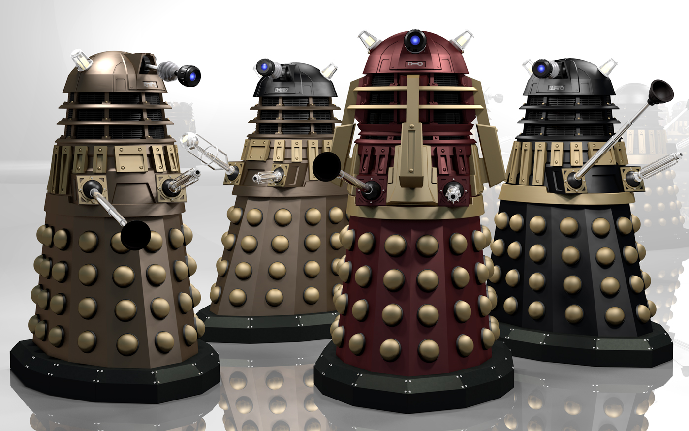 Time War Daleks by Librarian-bot