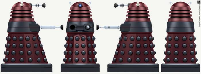 New Paradigm Dalek Strategist by Librarian-bot