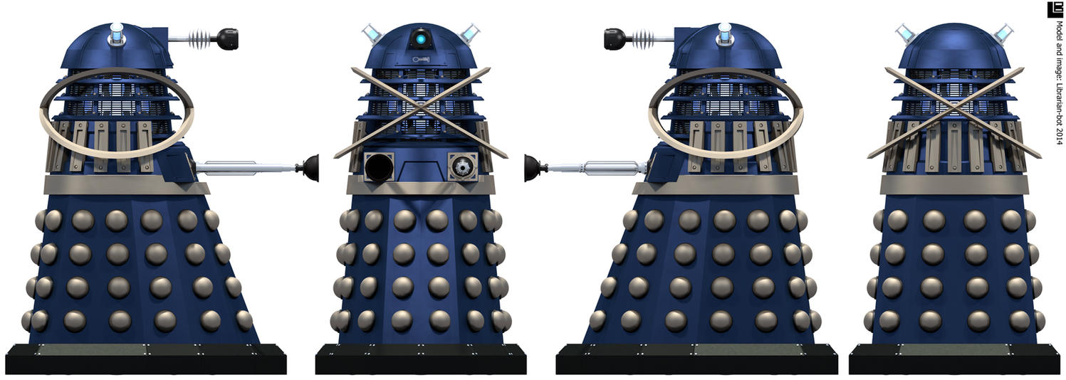 Time War Dalek Time Controller by Librarian-bot