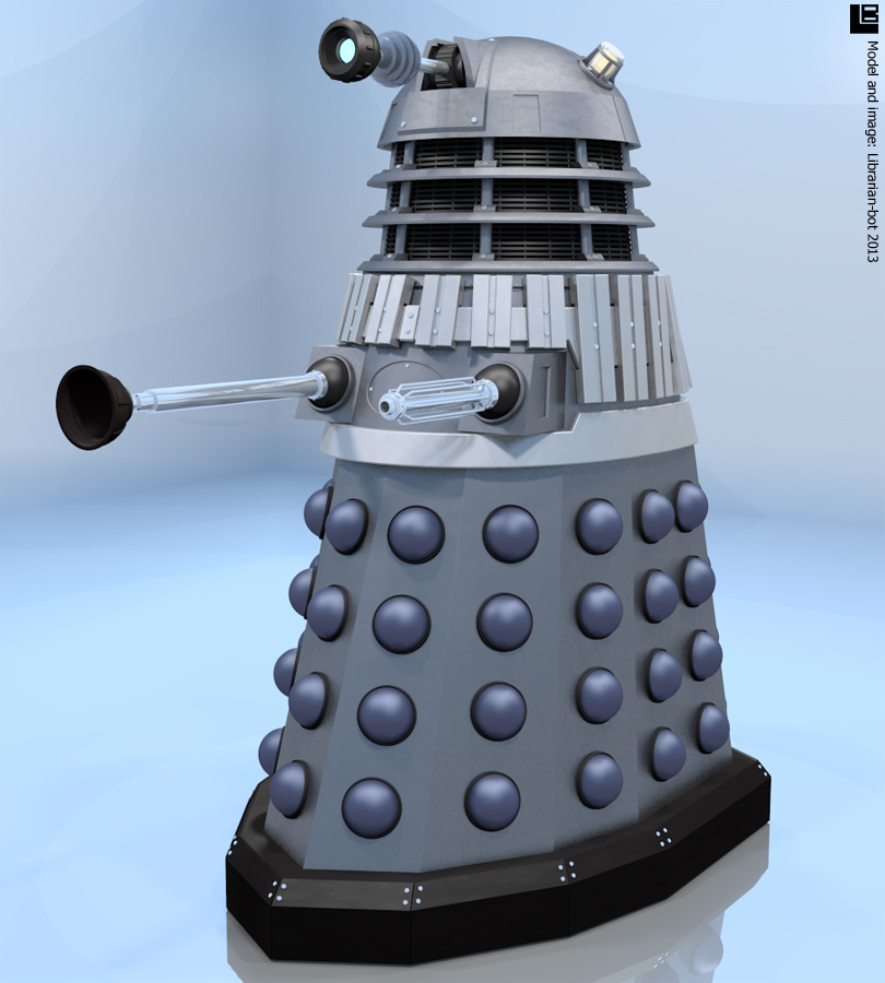 A new model Dalek by Librarian-bot
