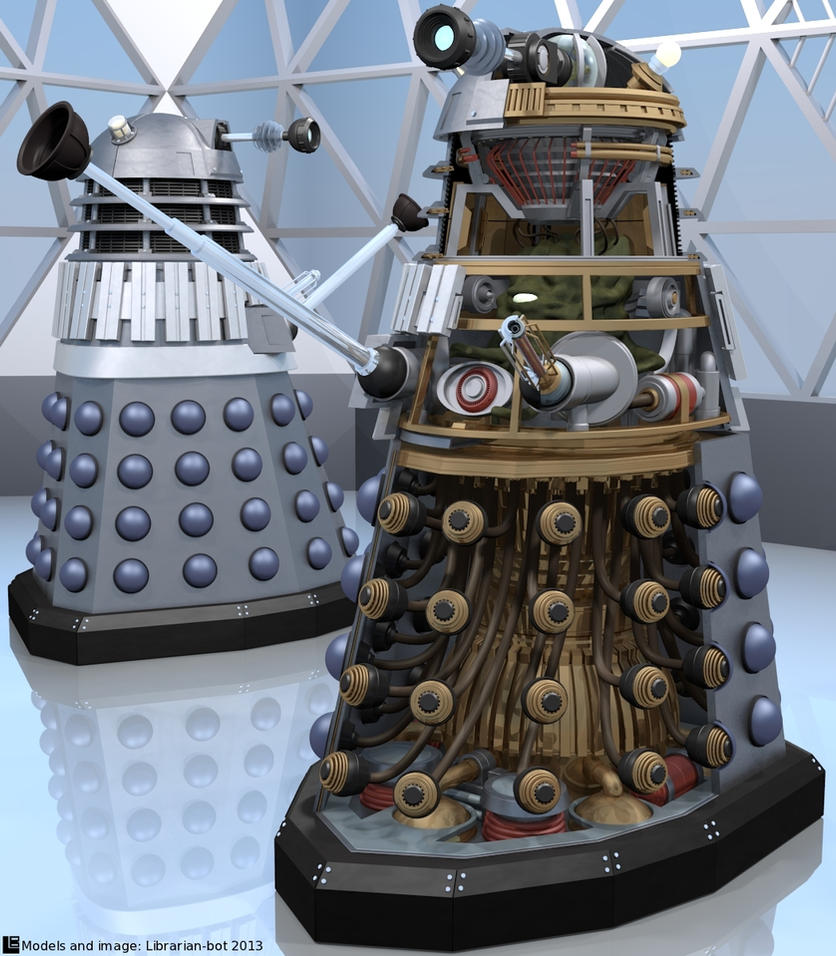 A Dalek Cutaway by Librarian-bot