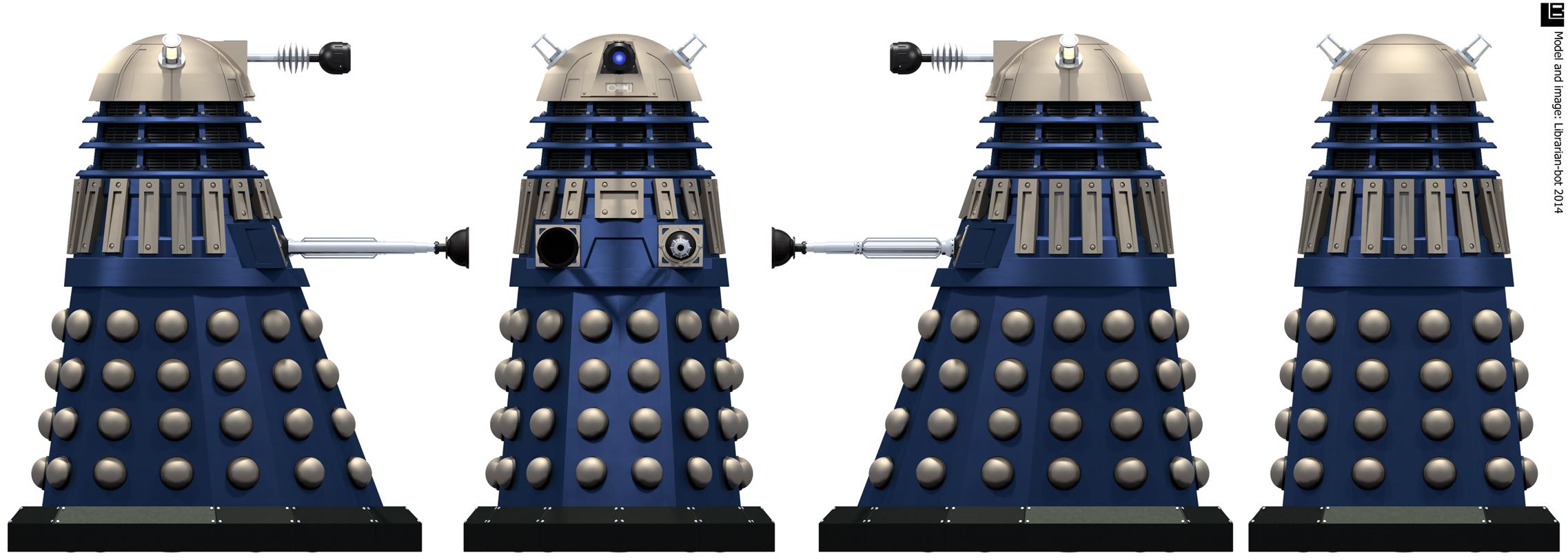Time War Eternity Circle Dalek by Librarian-bot on DeviantArt