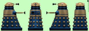 Arcade Blue Dalek