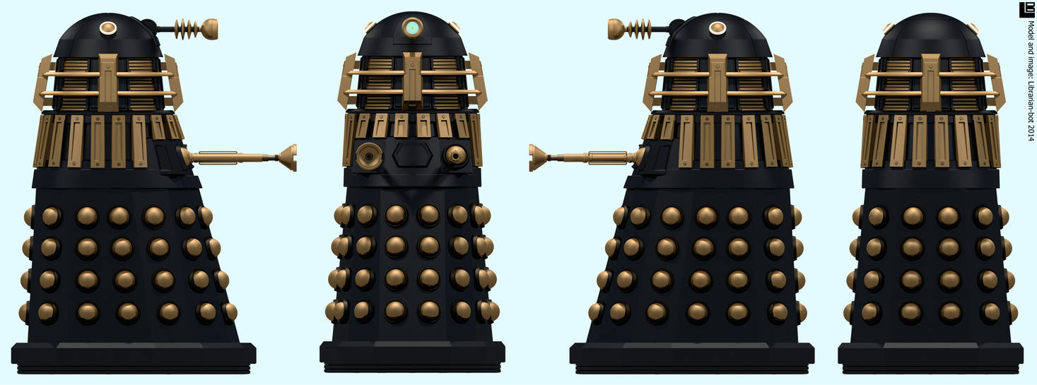 Imperial Supreme Dalek by Librarian-bot