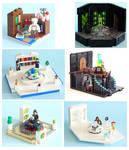 Lego TARDIS Console Rooms