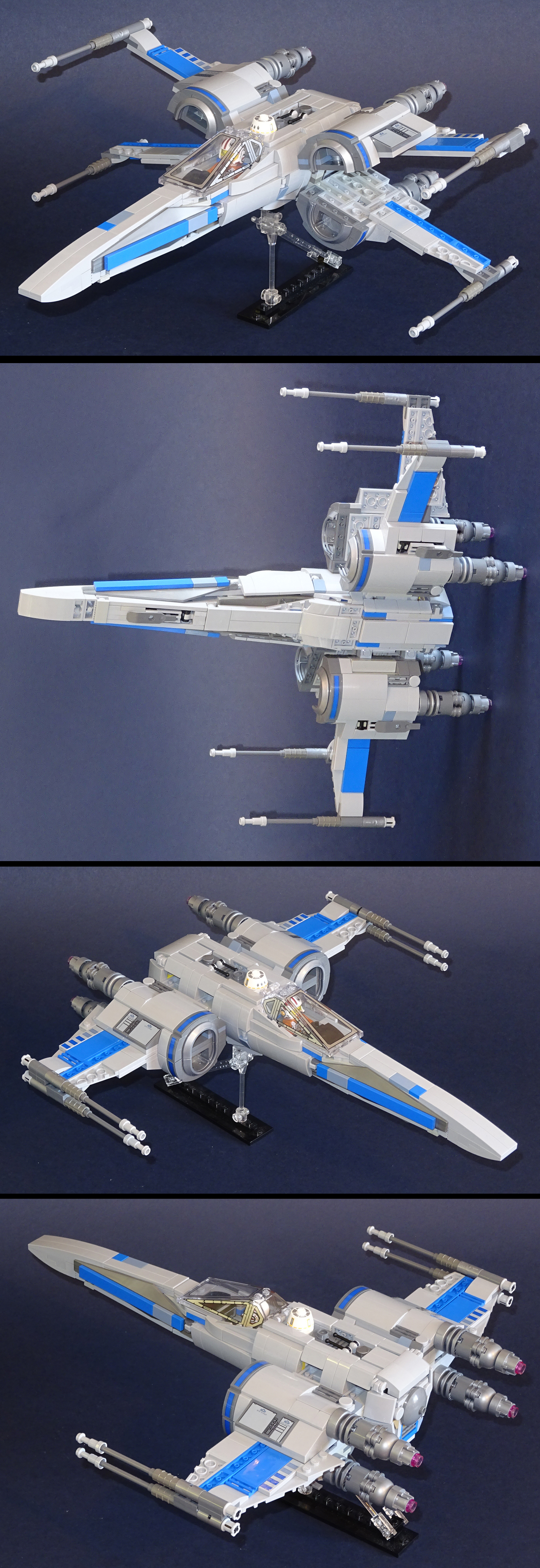 Lego Star Wars Resistance X Wing By Librarian Bot On Deviantart