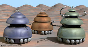 Three Chumblies by Librarian-bot