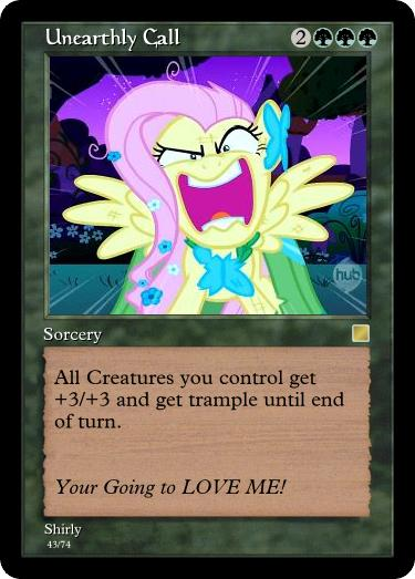 MLP-MTG: Unearthly call by Shirlendra