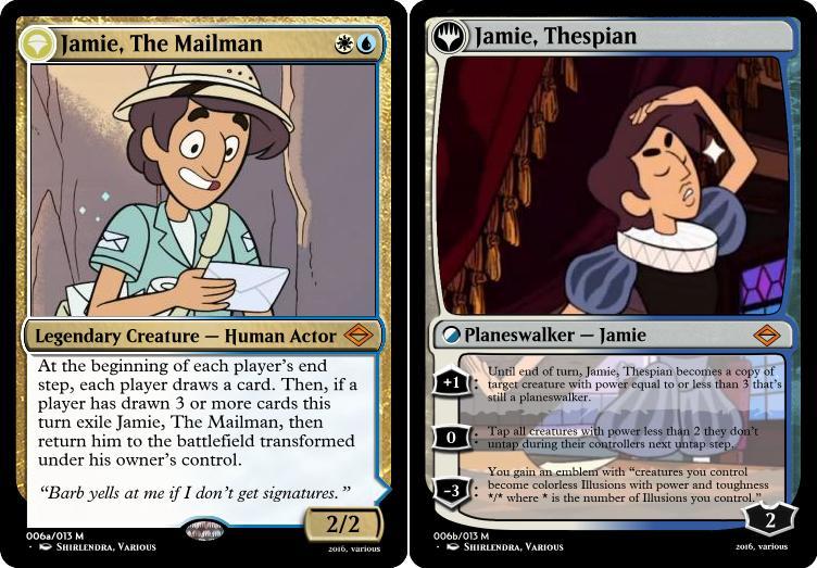 MTG-SU: Jamie The Mailman by Shirlendra