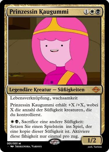 Adventure Time, MTG: Prinzessin Kaugummi by Shirlendra