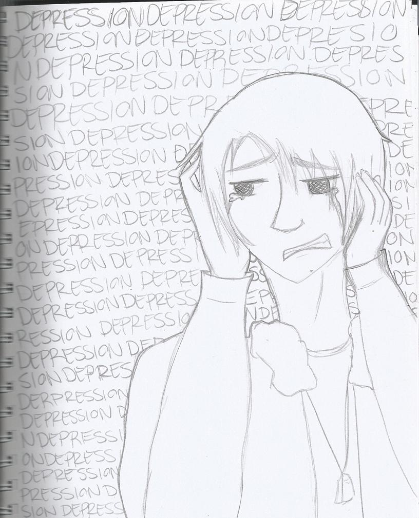 ''Help me, I'm depressed'' by RandomInABoxx