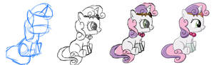 Evolution of a Sweetie Belle