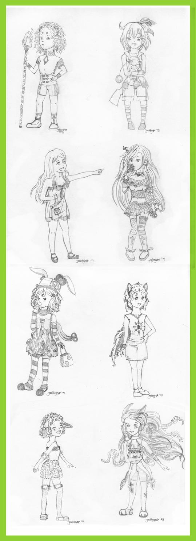 Xmas gifts 2009 by Haruki-Sakura