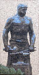 Ceramic Mosaic Untitled by Radan22
