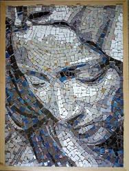 Ceramic Mosaic portret