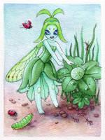 Dew Fairy by bleuphoria