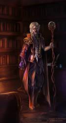 Dark Mage by Shaedry
