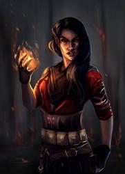 Destructive magic by Shaedry