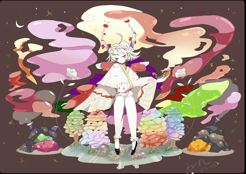 Okm: .: Rainbow Glass :. by iingo