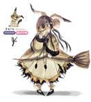 Mimikyu Gijinka