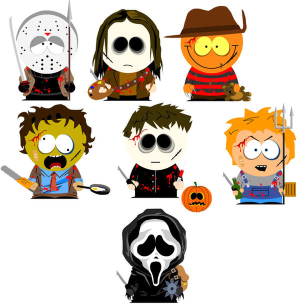 South Park Slashers by GeotrixQueen