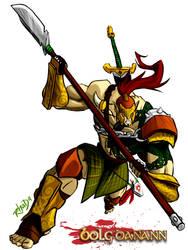 Celtic Elf by RhadaNinja